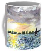 Sunset Sail Coffee Mug