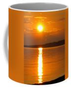 sunset Samsoe island Denmark Coffee Mug