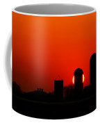 Sunset Silo Coffee Mug