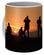 Sunset Silouettes Coffee Mug