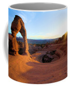 Sunset Starburst Coffee Mug