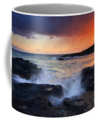 Sunset Storm Passing Coffee Mug by Mike  Dawson