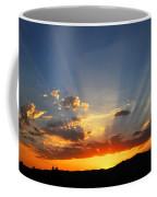 Sunset Sun Rays Coffee Mug