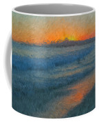 Sunset Surfers Coffee Mug
