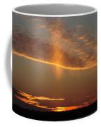 Sunset With Mist Coffee Mug