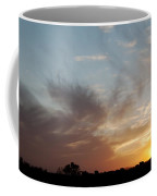 Sunset With Some Cows Coffee Mug