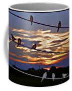 Sunsets And Birds Coffee Mug