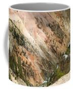 Sunshine On Grand Canyon In Yellowstone Coffee Mug