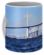 Sunshine Skyway Bridge II Coffee Mug