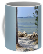 Sunshine Skyway From The Causeway Coffee Mug