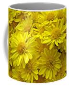 Sunshine Yellow Chrysanthemums Coffee Mug