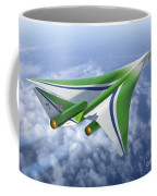Supersonic Aircraft Design Coffee Mug