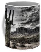 Superstition Saguaro  Coffee Mug