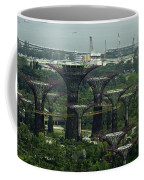 Supertrees At The Gardens By The Bay In Singapore Coffee Mug