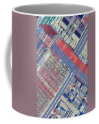 Surface Of Integrated Chip Coffee Mug by Michael W. Davidson