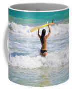 Surfer Girl Coffee Mug