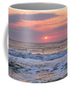 Surfing Pelicans Coffee Mug