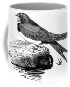 Swallow, C1800 Coffee Mug