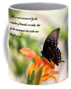 Swallowtail Card Coffee Mug