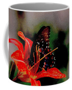 Swallowtail On Orange Coffee Mug