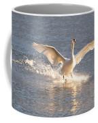 Swan Landing Coffee Mug