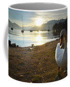 Swan On The Beach Coffee Mug