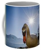 Swan Saying Hello Coffee Mug