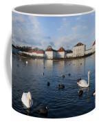 Swans Seen At Nymphenburg Palace Coffee Mug