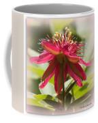 Sweet Dreams Passion Flower Coffee Mug