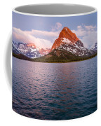 Swiftcurrent Lake At Dawn Coffee Mug