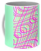Swirly Check Coffee Mug