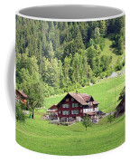 Swiss Village In The Alps Coffee Mug