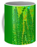 Sword Fern Fossil-green Coffee Mug