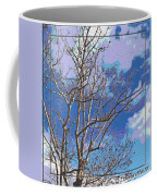 Sycamore Tree Branch Art Coffee Mug