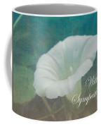 Sympathy Greeting Card - Wild Morning Glory - Bindweed Coffee Mug