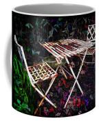 Table And Chairs Coffee Mug by Joan  Minchak