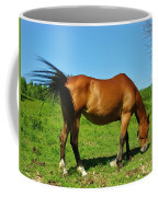 Tail Swatting Flies Coffee Mug