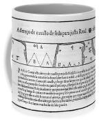 Tailors Pattern Book, 1589 Coffee Mug