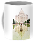 Taj Mahal On The Vertical Coffee Mug