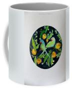 Talkative Parakeets Coffee Mug