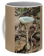 Tall Green Amanita Mushroom Coffee Mug