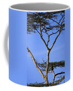 Tall Serengeti Tree And Baboon Coffee Mug