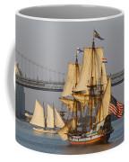 Tall Ship Five Coffee Mug