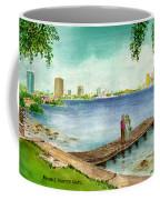 Tampa Fl Little Pier At Ballast Point Coffee Mug