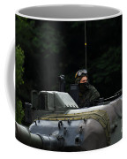 Tank Commander Of A Leopard 1a5 Mbt Coffee Mug