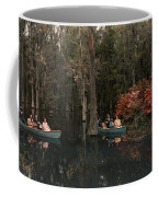 Tannic Acid From Old Trees Stains Water Coffee Mug