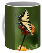 Tantalizing Tiger Swallowtail Butterfly Coffee Mug