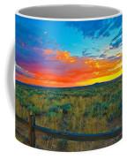 Taos Sunset Ix Coffee Mug