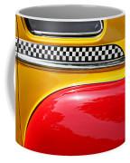 Taxi 1946 Desoto Detail Coffee Mug