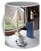 Tea Is Served By Peru Rail On The Way Coffee Mug by Michael &Amp Jennifer Lewis